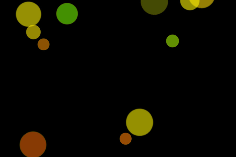 Colorful Party Light Bokeh Effect on black background   Free Overlays