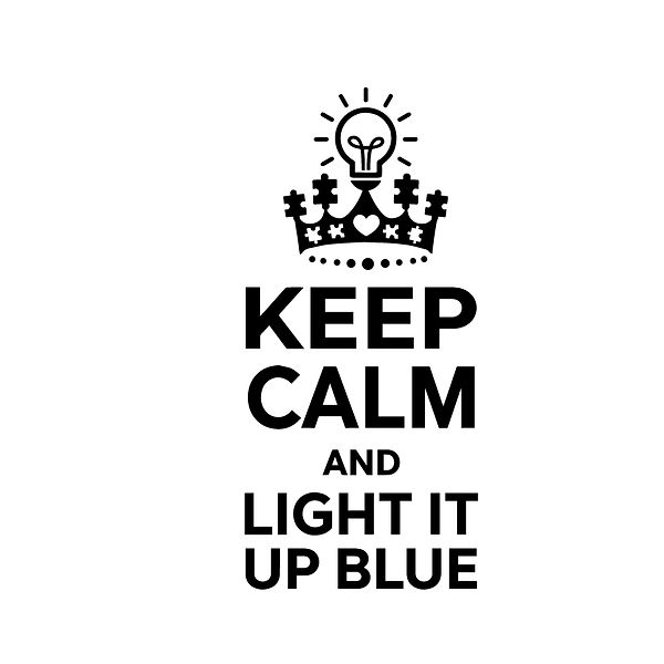 Keep calm and light it up blue    Png | Free Iron on Transfer Funny Quotes T- Shirt Design in Png