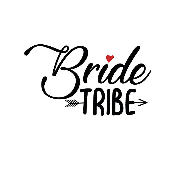 Bride tribe | Free download Iron on Transfer Sassy Quotes T- Shirt Design in Png