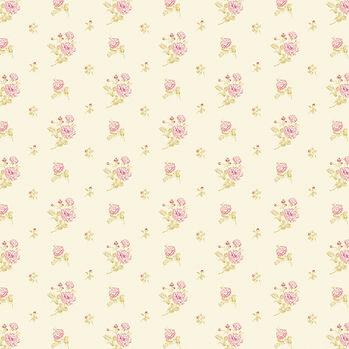 Spring peonies digital paper with seamless design | Handmade Digital Papers