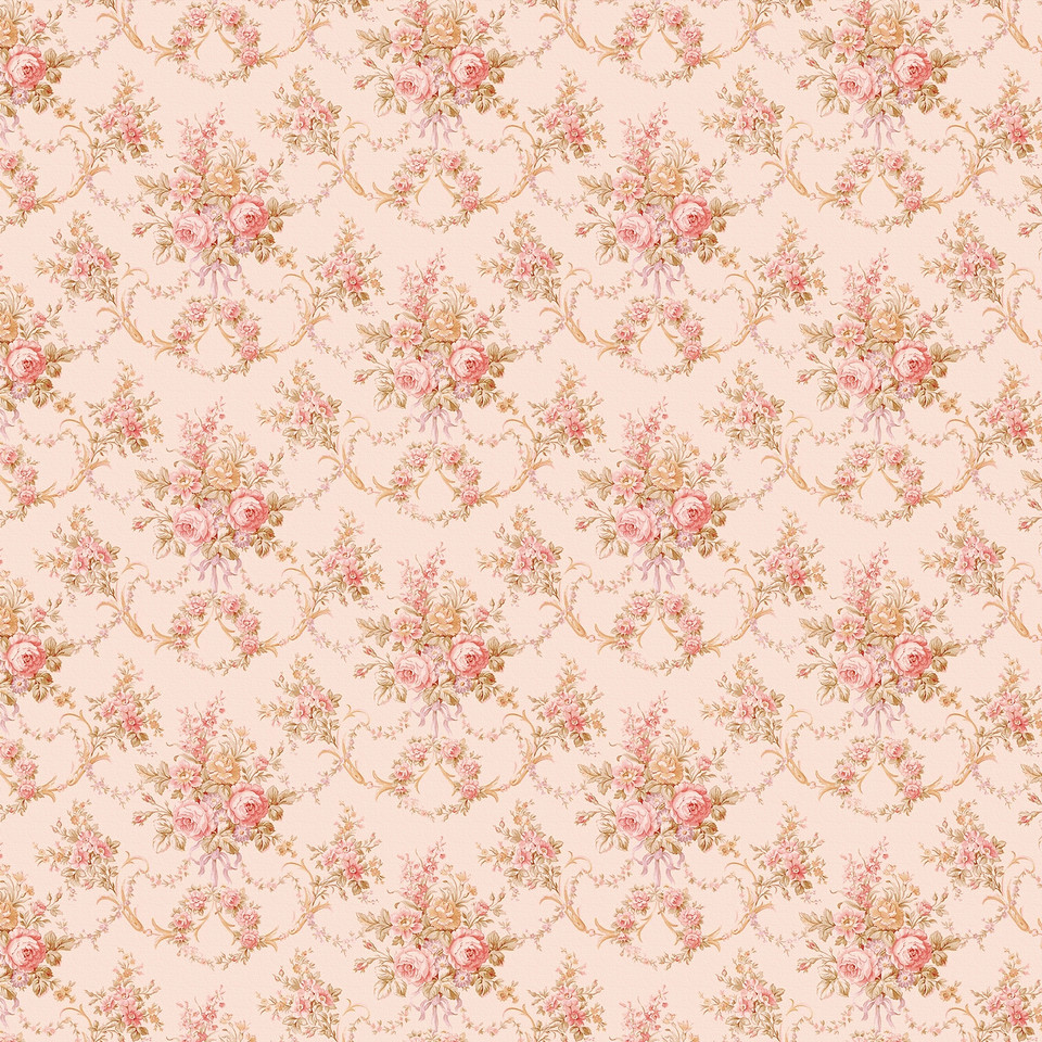 Pink peony digital paper with seamless design   Handmade Digital Papers