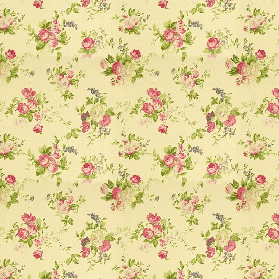 Watercolor floral digital paper with pastel flowers | seamless Digital Paper