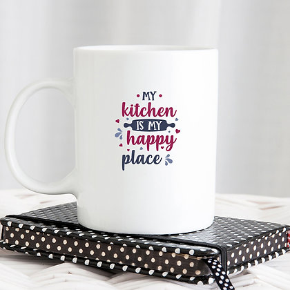 My Kitchen My Happy Place | Sassy Kitchen Sign for Cricut and Silhouette Cameo