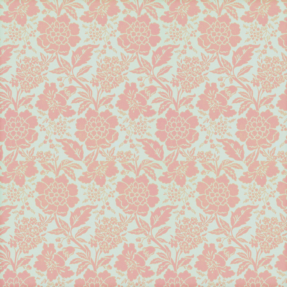 Vintage floral digital paper with roses | Hand Painted Paper