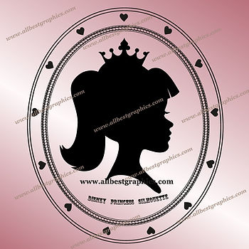 I'm a Disney Princess Outline Clip Art | Disney Cartoons Cut Files