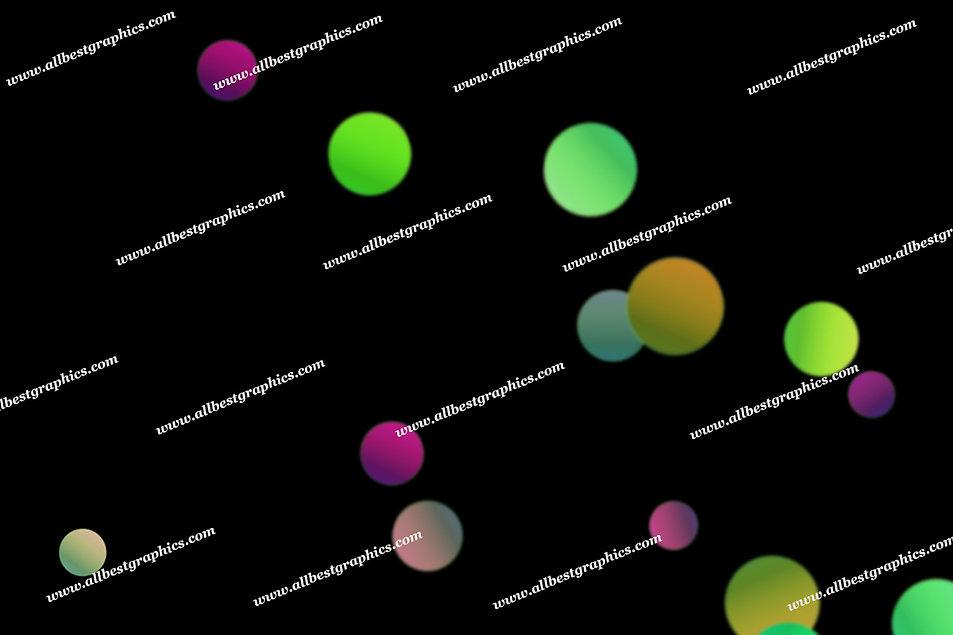 Delightful Romantic Lights Bokeh Texture | Incredible Photo Overlay on Black
