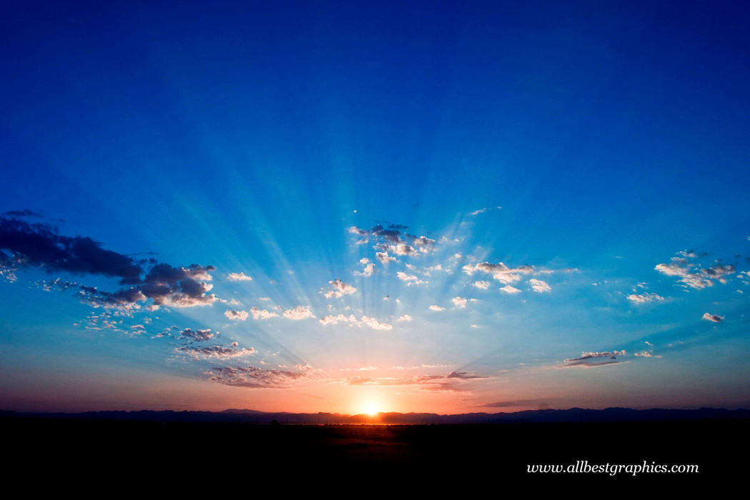 Wonderful spectacular sunset sky | Photo overlays