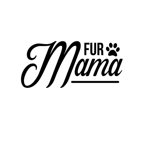 Fur mama Png | Free Iron on Transfer Funny Quotes T- Shirt Design in Png