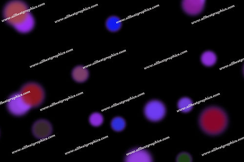 Beautiful Abstract Lights Bokeh Background | Elegant Photoshop Overlays on Black