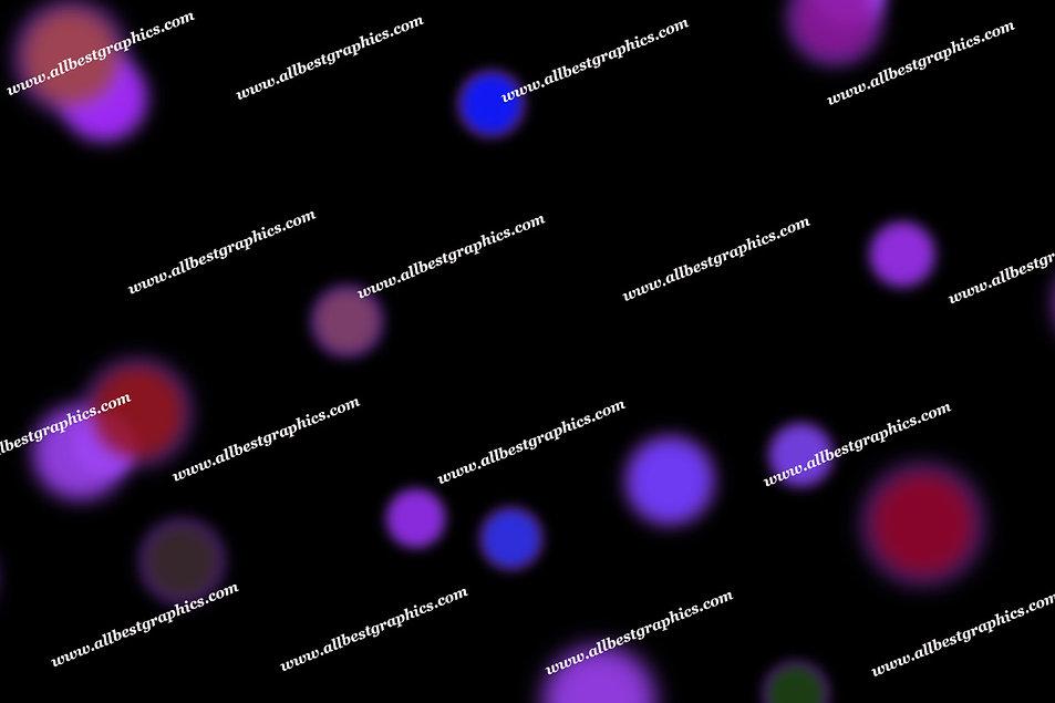 Beautiful Abstract Lights Bokeh Background   Elegant Photoshop Overlays on Black