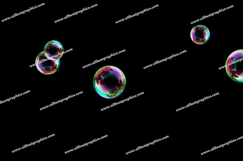 Dreamy Baby Bubble Overlays | Stunning Photoshop Overlays on Black