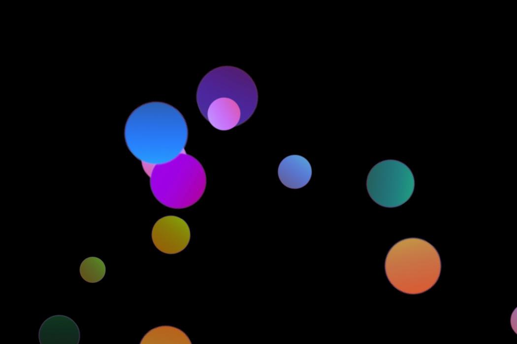 Colorful Holiday Light Bokeh Effect on black background | Photoshop Overlays