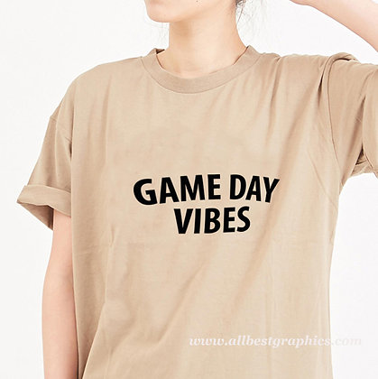 Game day | Sassy T-Shirt Quotes Cut files in Eps Dxf Svg
