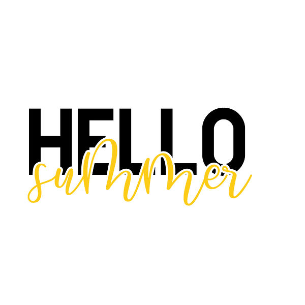 Hello summer Png   Free Printable Sarcastic Quotes T- Shirt Design in Png