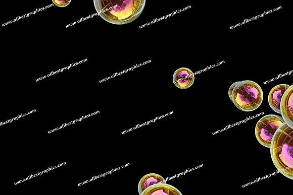 Adorable Soap Bubble Overlays | Professional Photoshop Overlays on Black