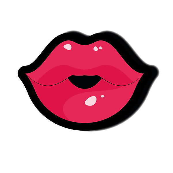 Lips | Free download Iron on Transfer Sassy Quotes T- Shirt Design in Png