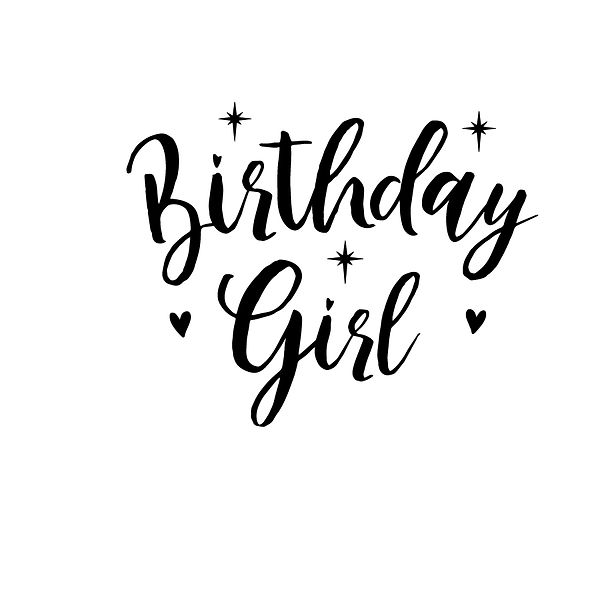 Birthday girl | Free download Printable Cool Quotes T- Shirt Design in Png