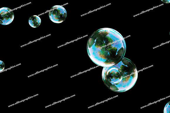 Beautiful Baby Bubble Overlays | Incredible Photo Overlays on Black