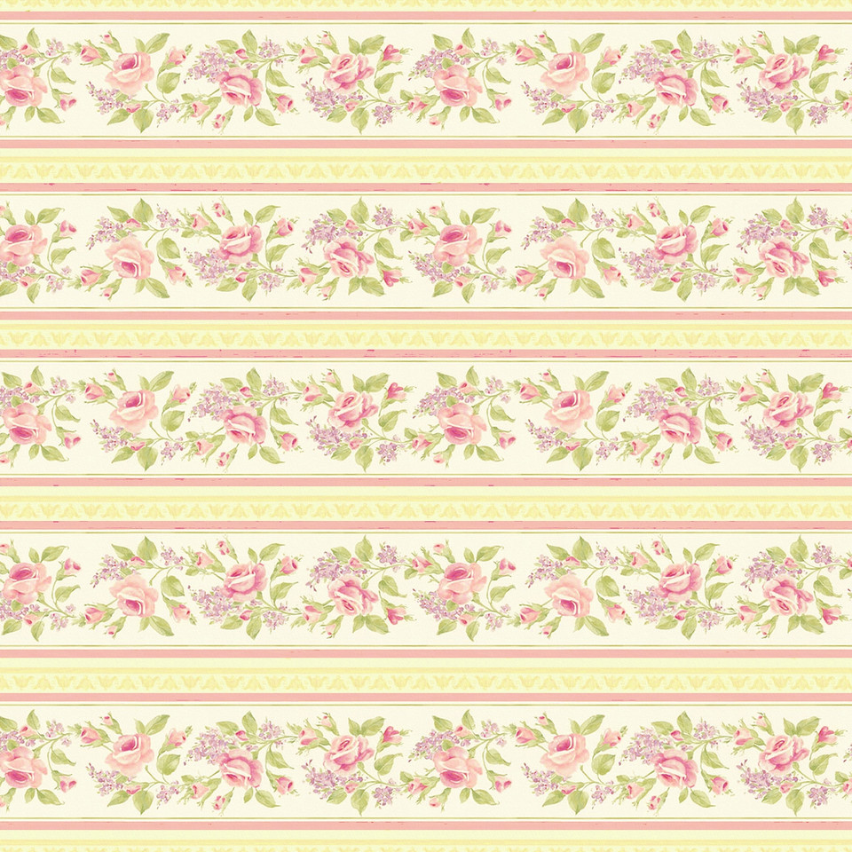 Vintage roses digital paper with seamless design | Scrapbook Digital Papers