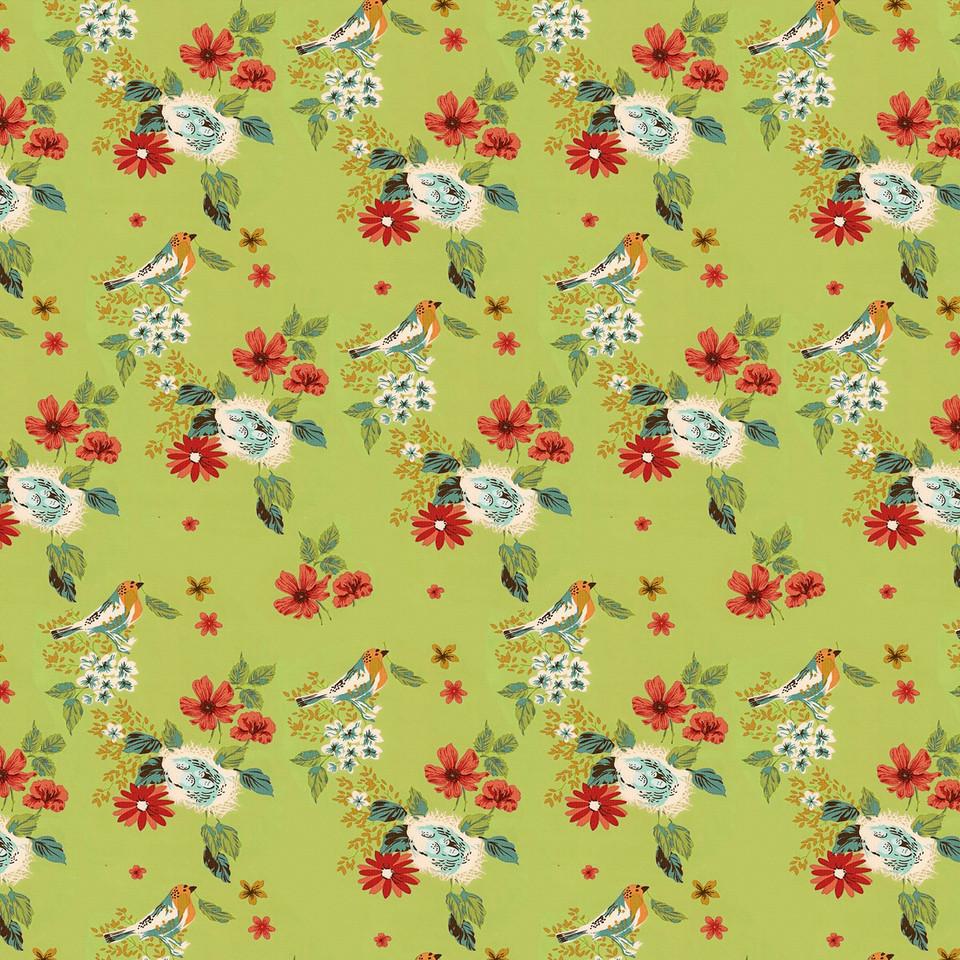 Watercolor floral digital paper with roses and peonies | Scrapbook Paper