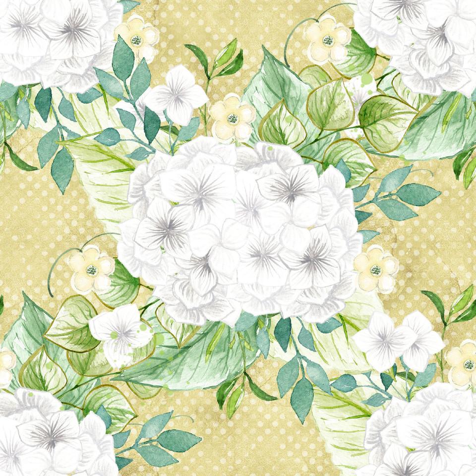 Great watercolor digital paper with peonies   Printable Digital Paper