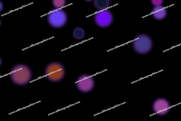 Delightful Night Lights Bokeh Overlays | Fantastic Photoshop Overlay on Black
