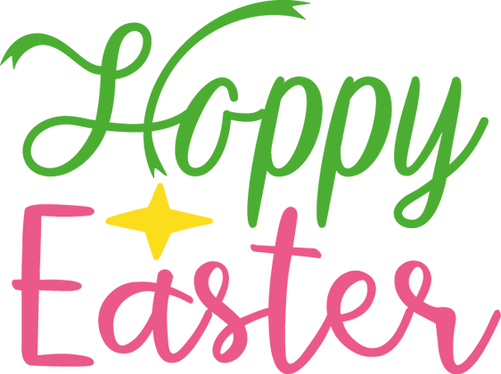 Happy Easter | Happy Easter and Bunny Quotes & Signs Cut files in Svg Dxf Eps