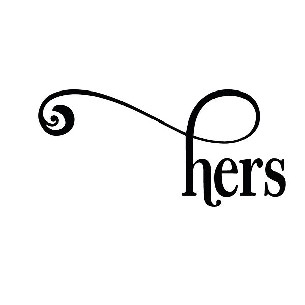 Hers | Free Printable Sassy Quotes T- Shirt Design in Png