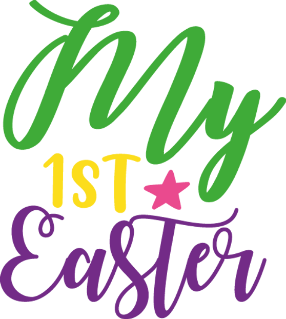 My First Easter | Happy Easter and Bunny Quotes & Signs for Silhouette Cameo
