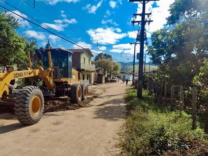 CIMURC conclui obras de recuperação da BA-549 contemplando moradores de Santa Terezinha e Itaibó