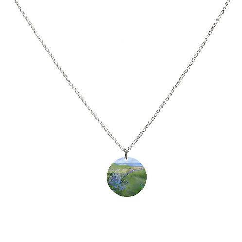 Sue Fenlon 'Cornflowers' Necklace - Round