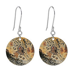 pictimagery-lichen-earrings-short-round-