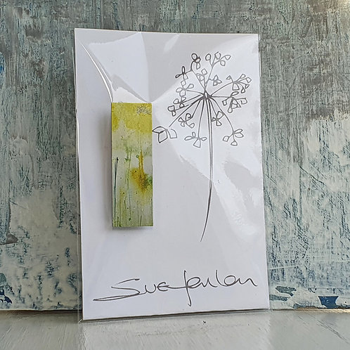 Sue Fenlon 'Sunflowers' Brooch