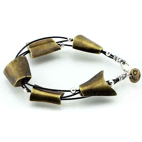 Gutted Fish Bracelet - Bronze Finish