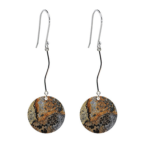 Lichen VI Long Earrings