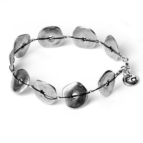 Rockpool Bracelet - Silver Finish