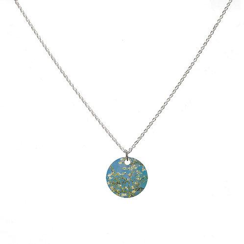Van Gogh Necklace - Almond Blossom Necklace - Round