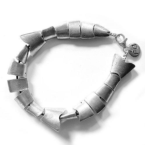 Flex Fish Bracelet - Silver Finish