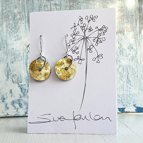 Sue Fenlon 'Turnaround' Round Dangly Earrings