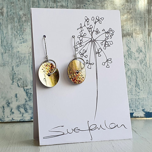 Sue Fenlon 'Through the Window' Round Dangly Earrings