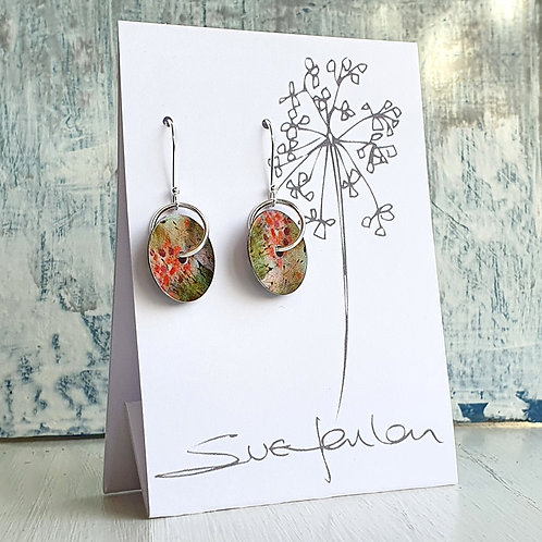 Sue Fenlon 'Birthday Party' Round Dangly Earrings
