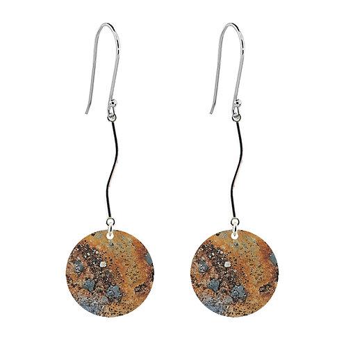 Lichen II Long Earrings