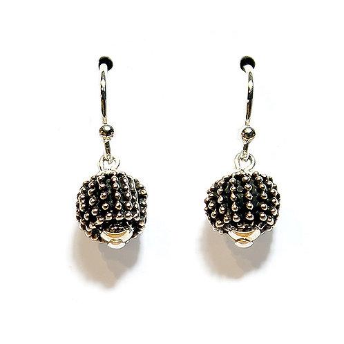 Reef Rock Earrings - Silver Finish