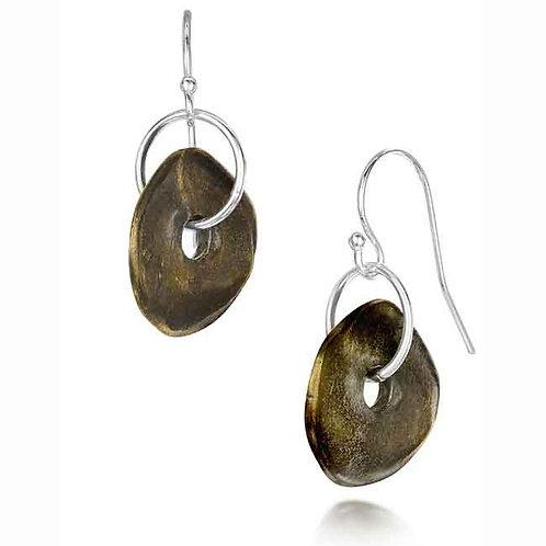 Rock Pool Earrings - Bronze Finish