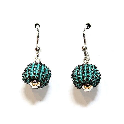 Reef Rock Earrings - Copper Finish