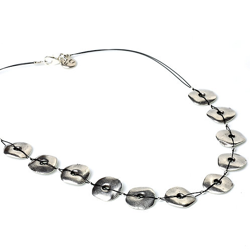 Rockpool Necklace - Silver Finish