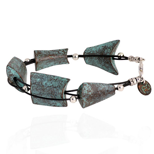 Gutted Fish Bracelet - Copper Finish