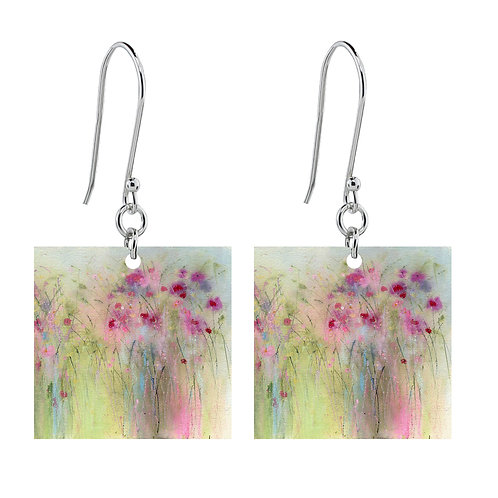 Sue Fenlon 'Whisper' Earrings - Short Square