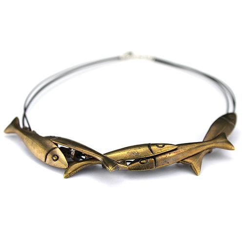 Shoal Necklace - Bronze Finish
