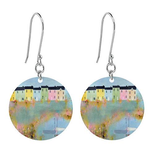 Sue Fenlon 'Spring Tides' Earrings - Short Round